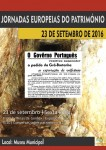 Jornadas Europeias do Patrimonio 2016